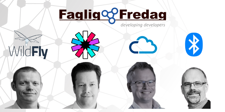 Faglig Fredag den 20. december 2019 med oplæg om Wildfly, Quarkus, Kubernetes, JWT Cloud og anti-patterns